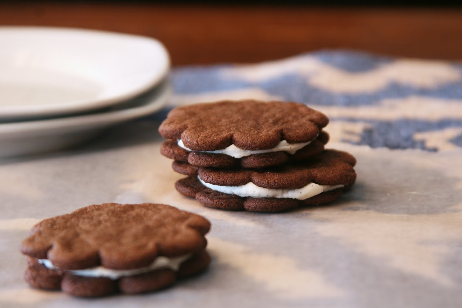 Homemade Oreos - Espresso and CreamEspresso and Cream