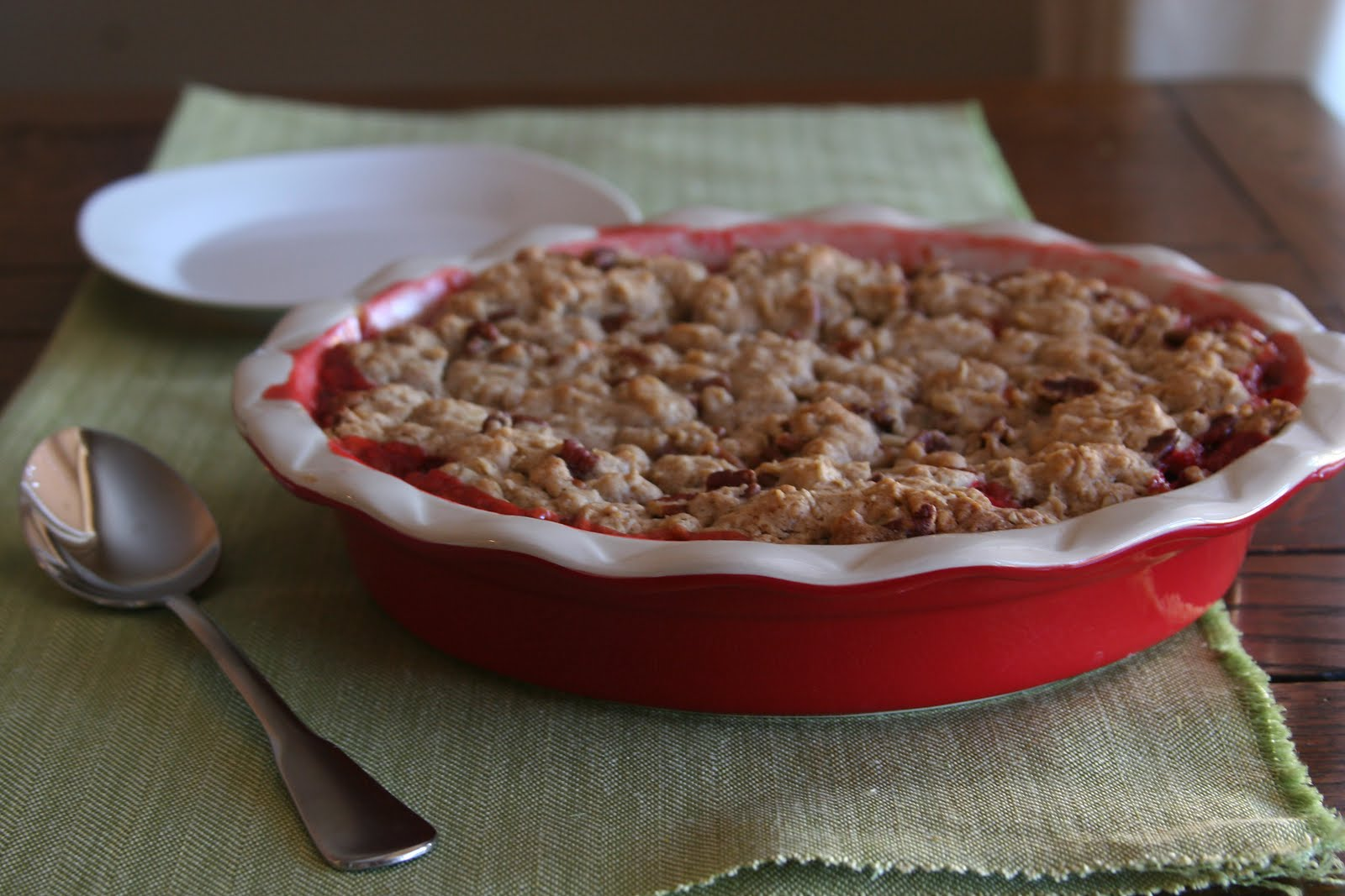 Strawberry Rhubarb Cobbler With Cake Mix
