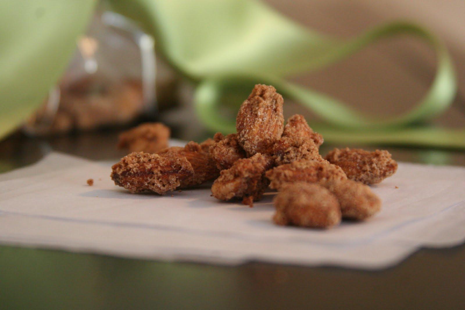 Candied Almonds | Espresso and Cream