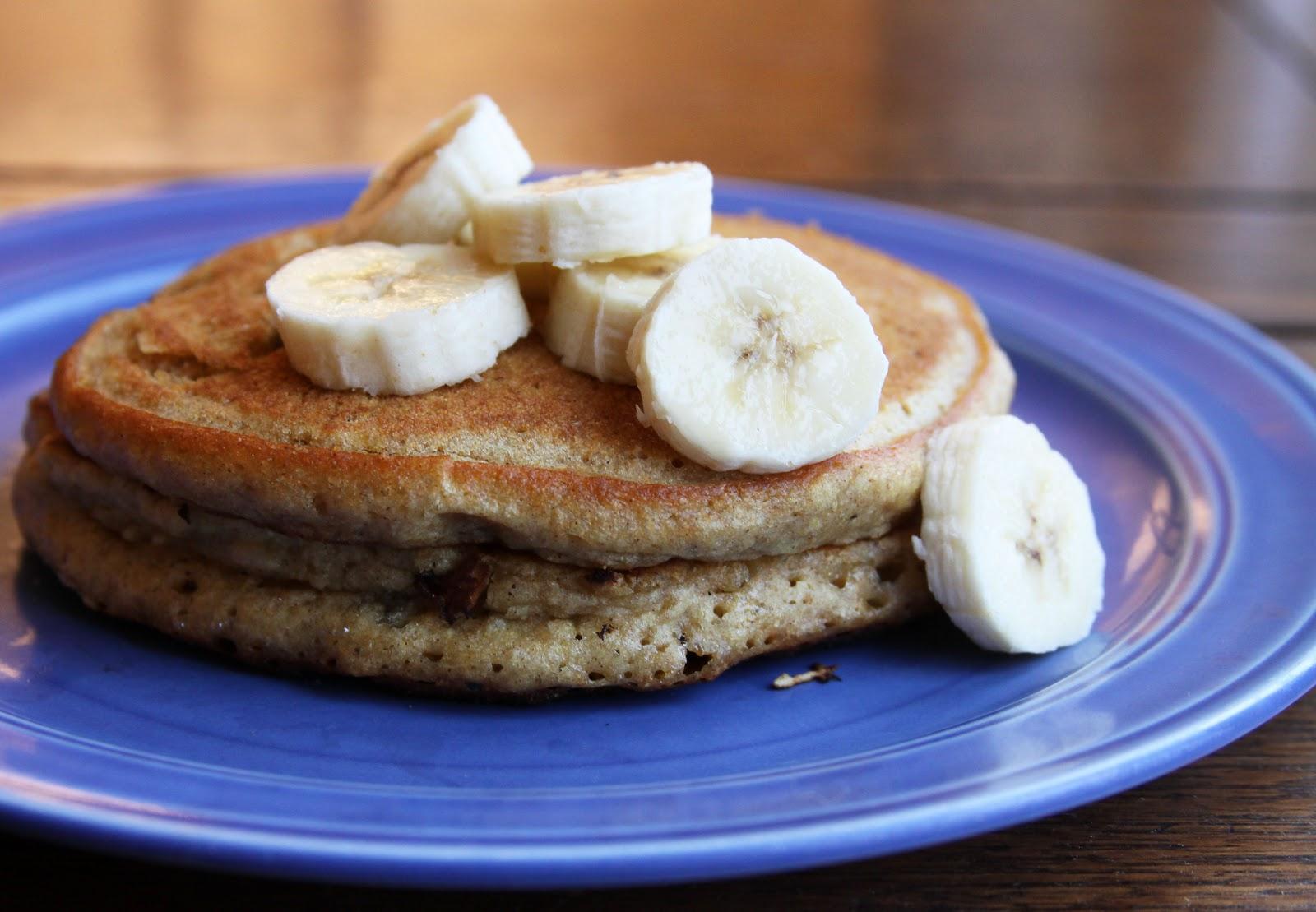 Whole Wheat Banana Pancakes - Espresso and CreamEspresso ...