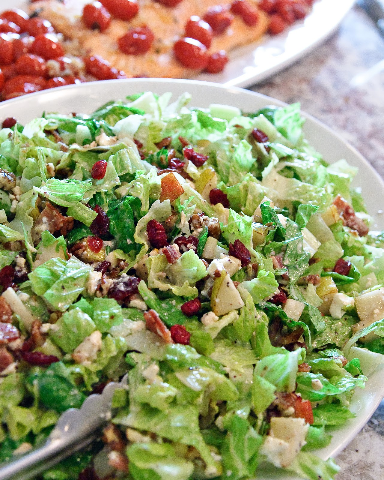 Autumn chopped salad espresso and creamespresso and cream for Salad for thanksgiving best recipes