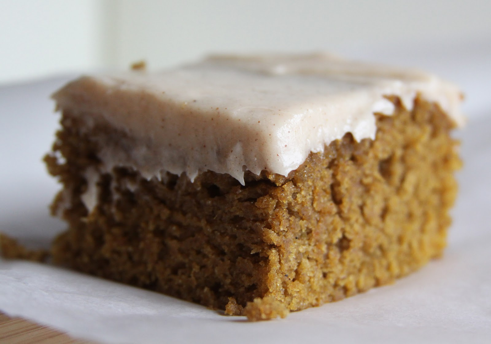 Pumpkin Bars with Cream Cheese Frosting | Espresso and Cream