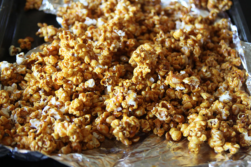 Honeyed Pumpkin Spice Caramel Corn