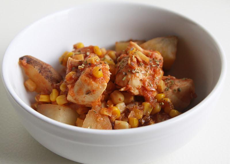 Slow Cooker Latin Chicken Recipe — Dishmaps