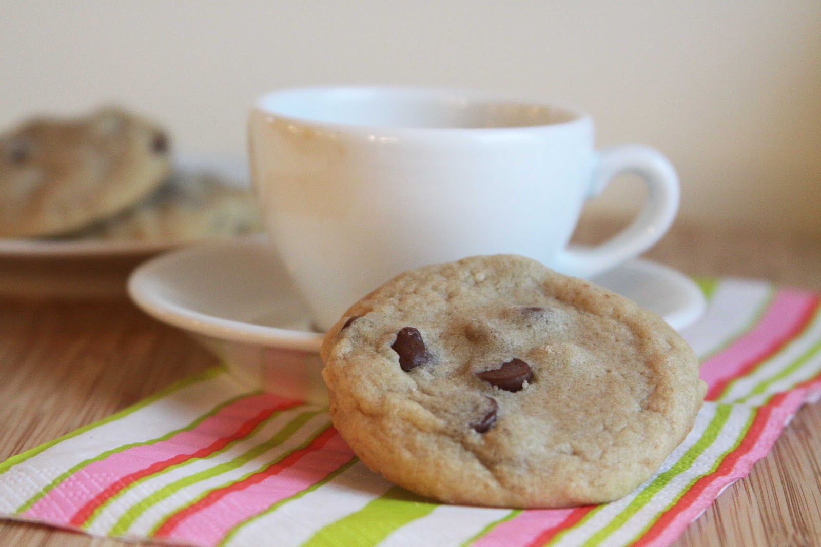 Soft and Chewy Chocolate Chip Cookies | Espresso and Cream