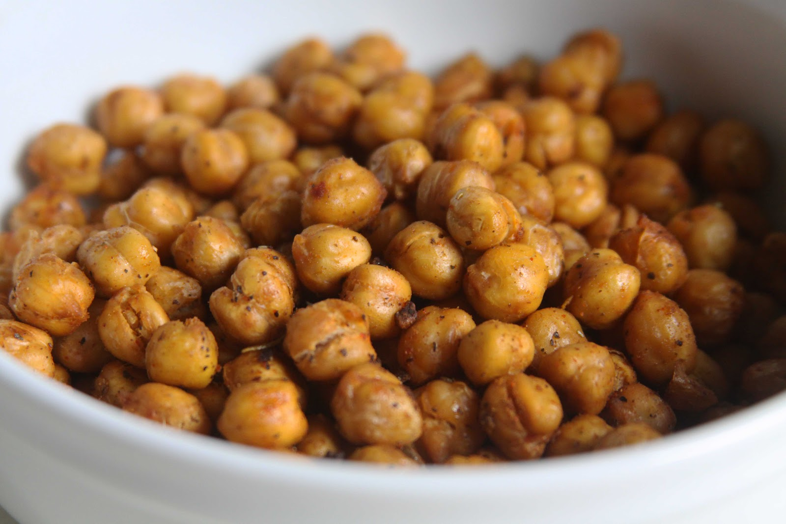 roasted chickpeas roasted honey cinnamon chickpeas spicy oven roasted ...
