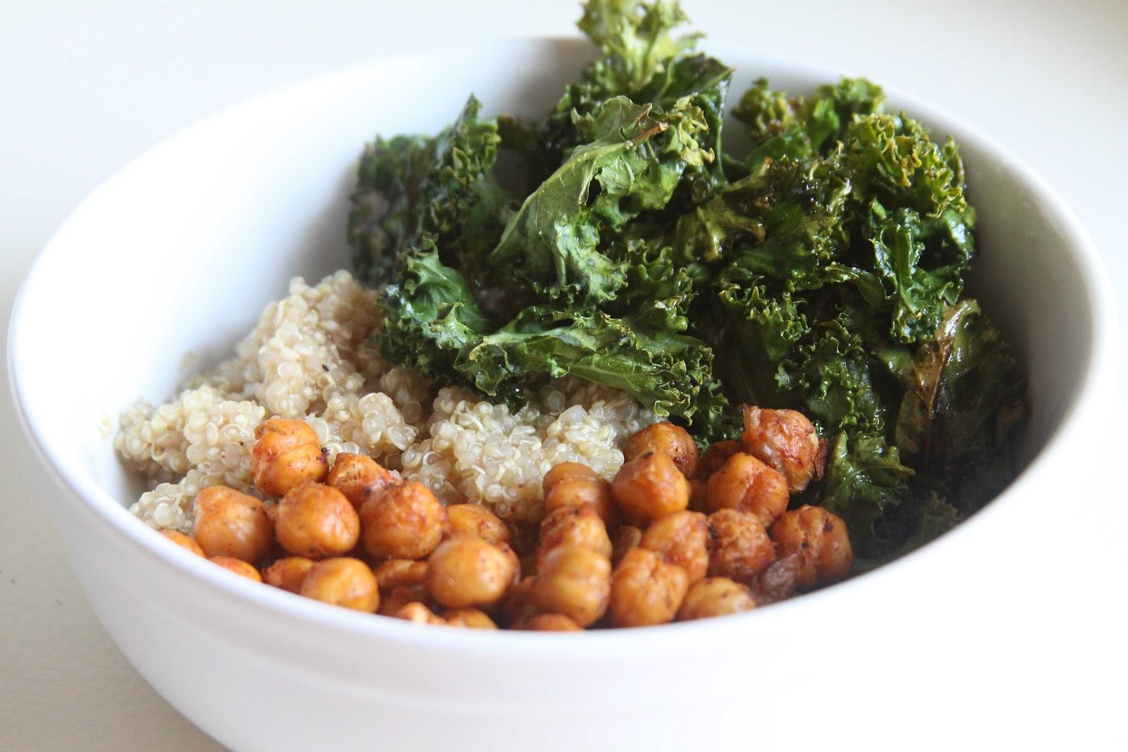 Chickpea, Kale and Quinoa Bowl - Espresso and ...
