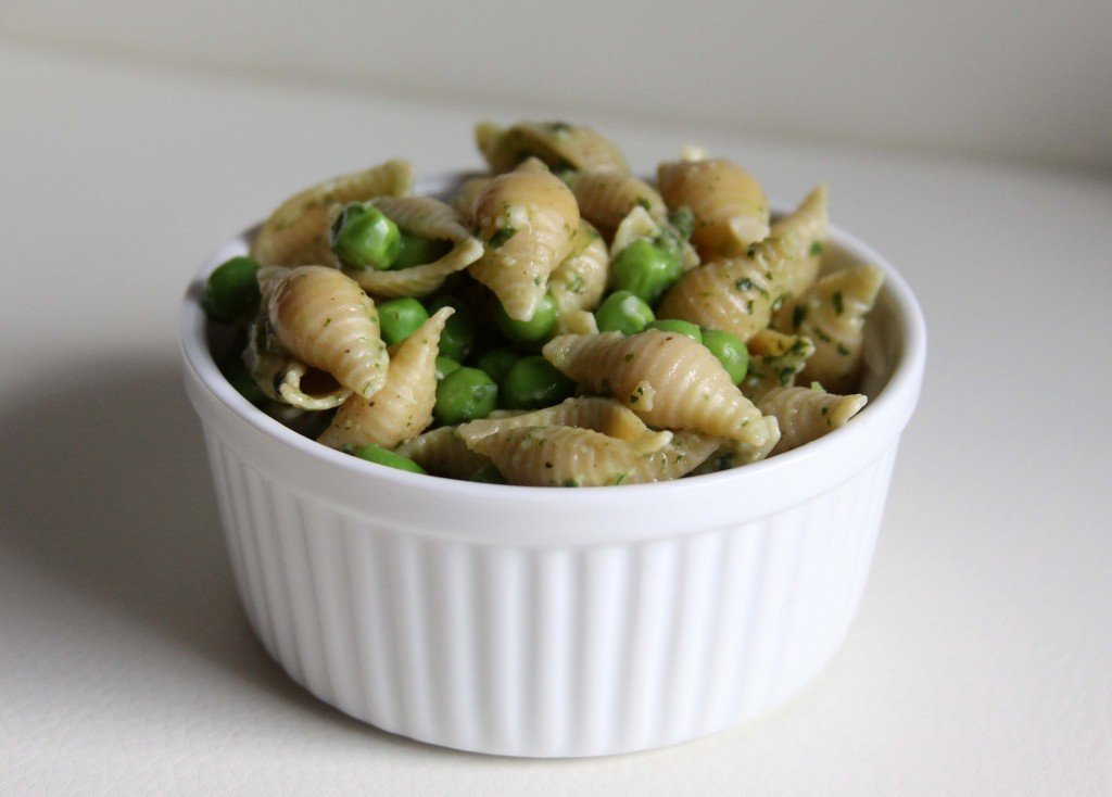 ... shrimp and peas pasta with peas smoked almonds and dill pasta