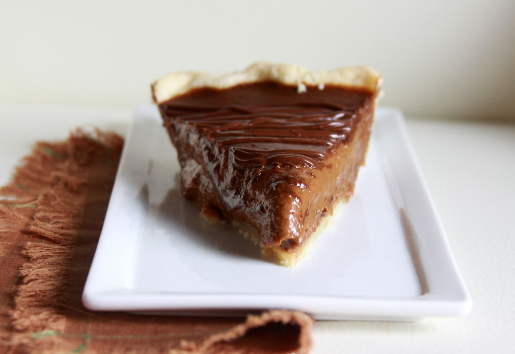 Chocolate-Pumpkin Pie (aka Pumpkin Spice Latte Pie) Espresso and