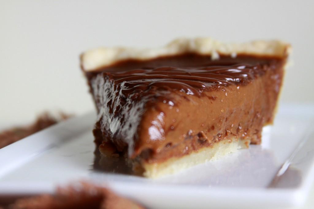 Chocolate-Pumpkin Pie (aka Pumpkin Spice Latte Pie) - Espresso and ...