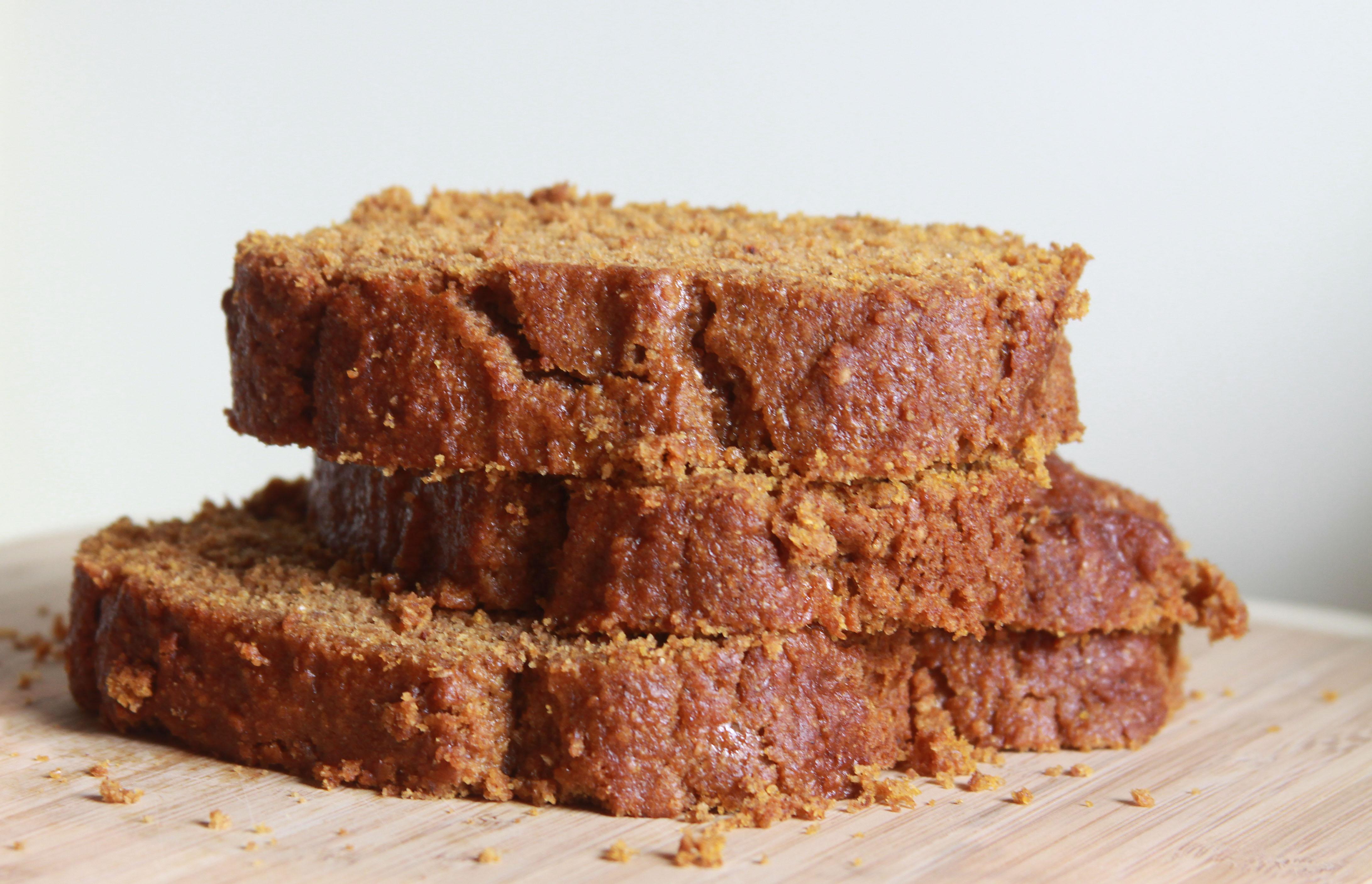 whole wheat pumpkin bread recipe adapted from pumpkin bread via