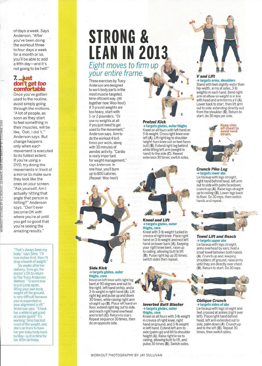 Tracy Anderson Workout + Incline Walking - Espresso and