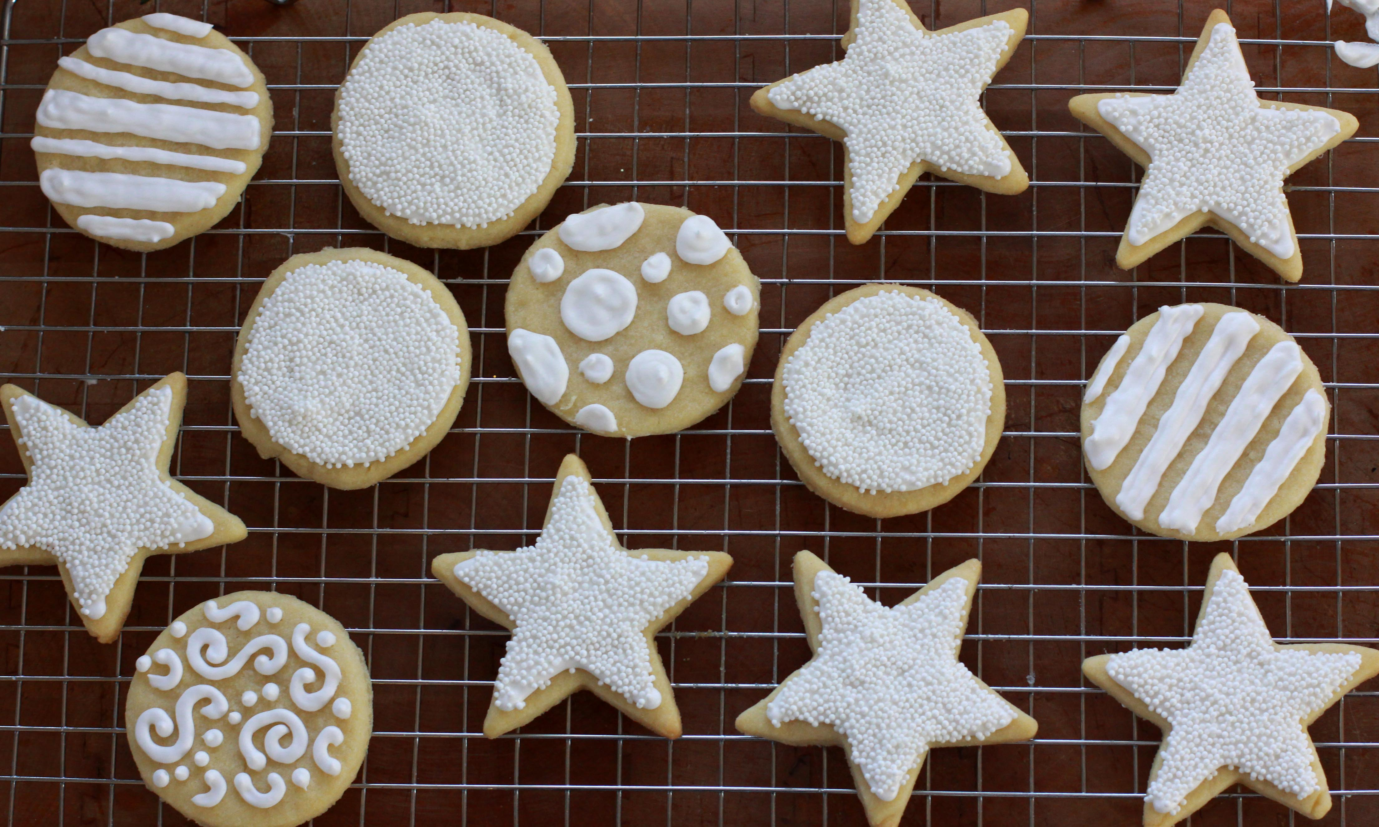 Christmas iced cookie recipe