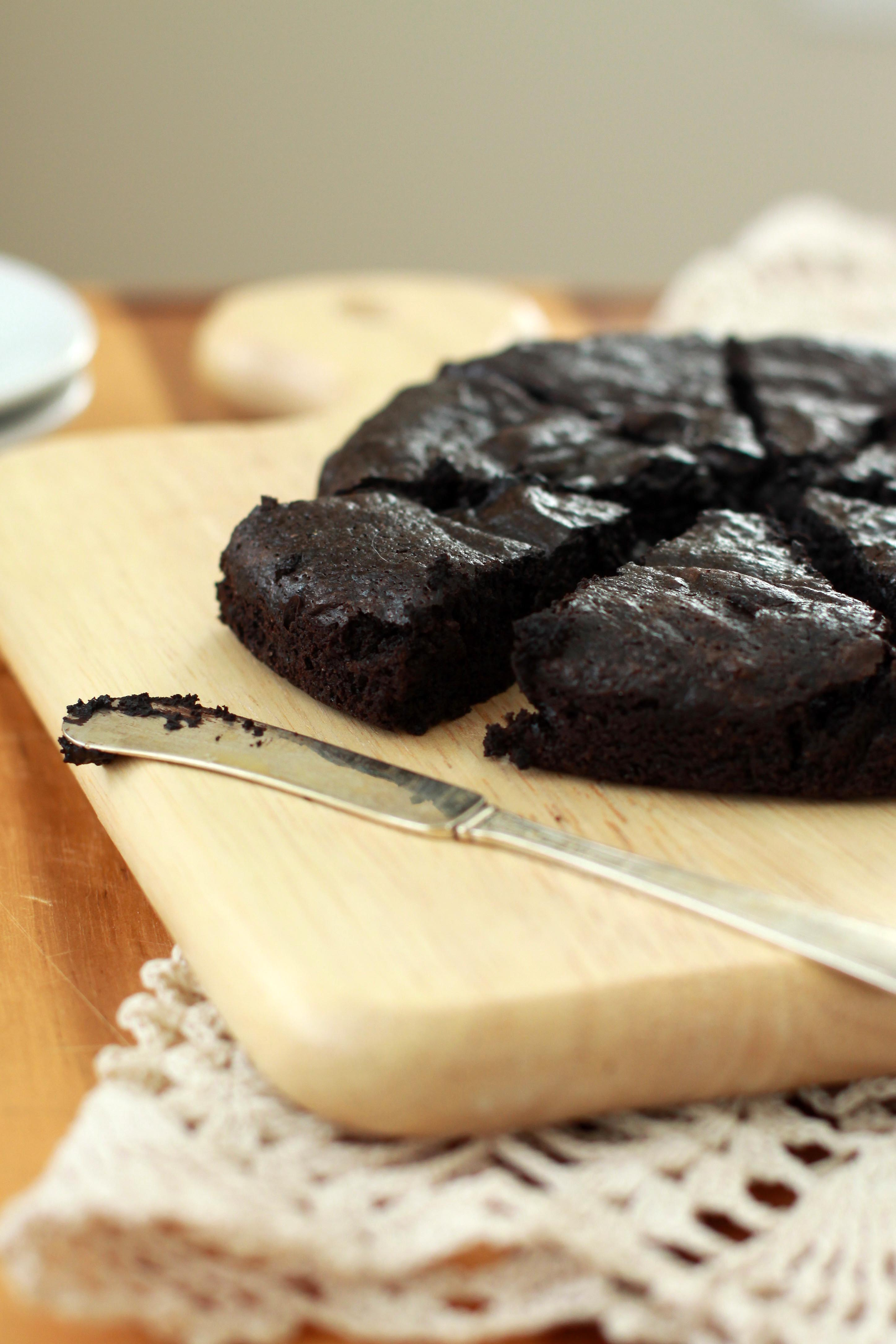 Flourless Dark Chocolate Cake | Espresso and Cream