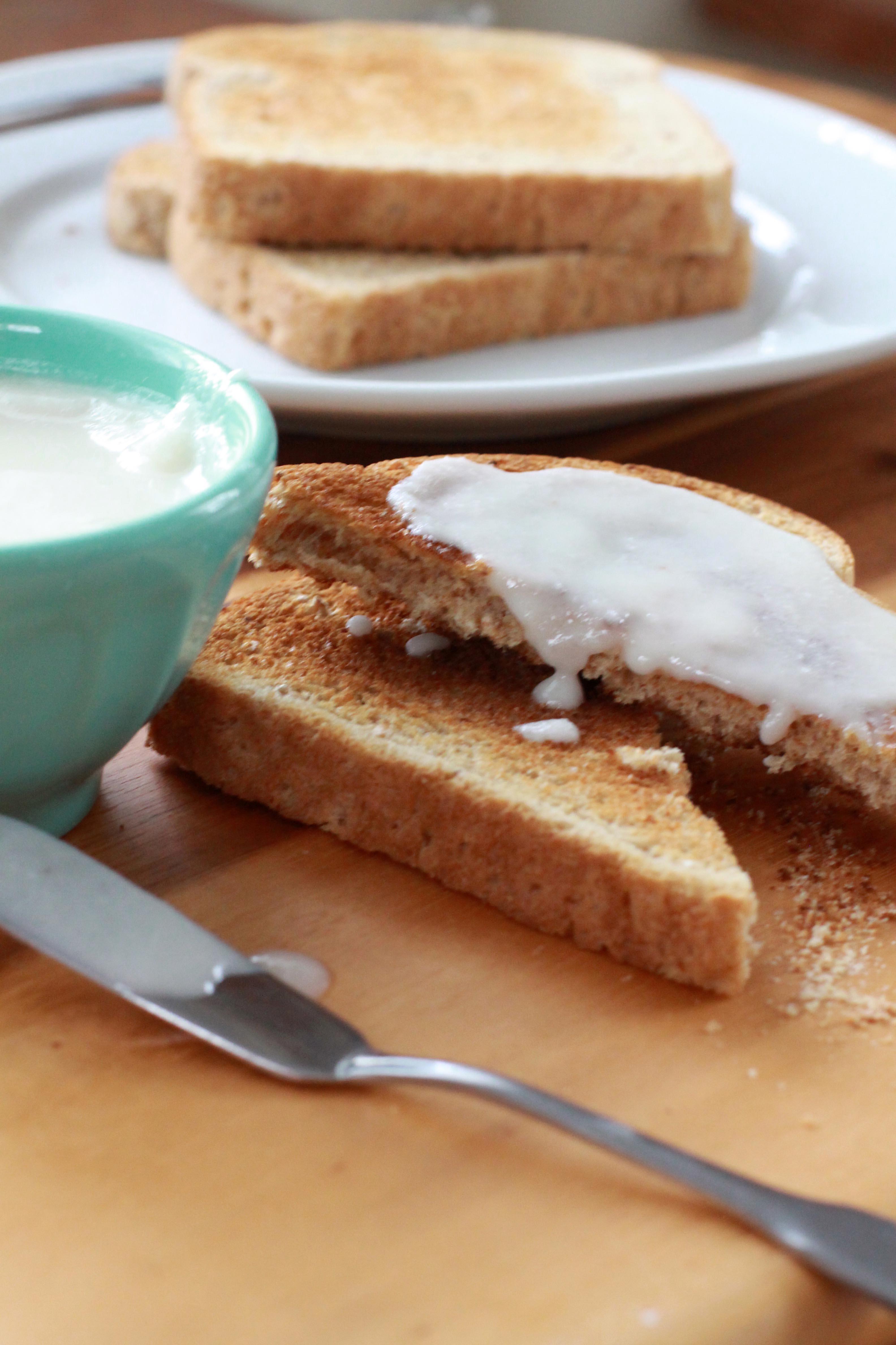 Homemade Vanilla Coconut Butter   Espresso and Cream