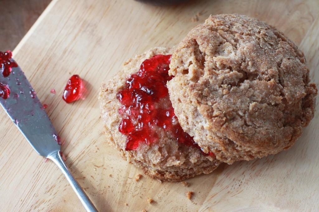 Whole Wheat Biscuits 2 | Espresso and Cream