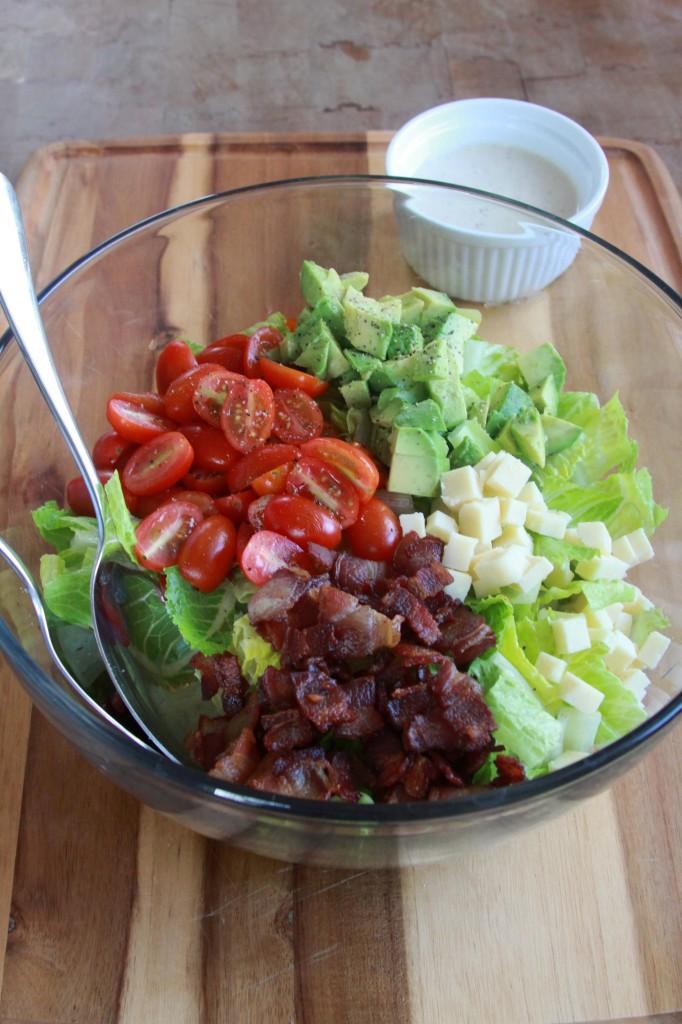 Summer Chopped Salad | Espresso and Cream 3