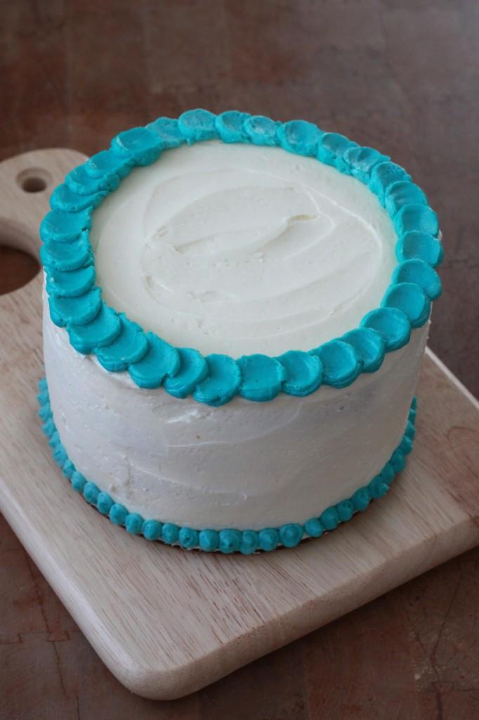 Eli Smash Cake 1