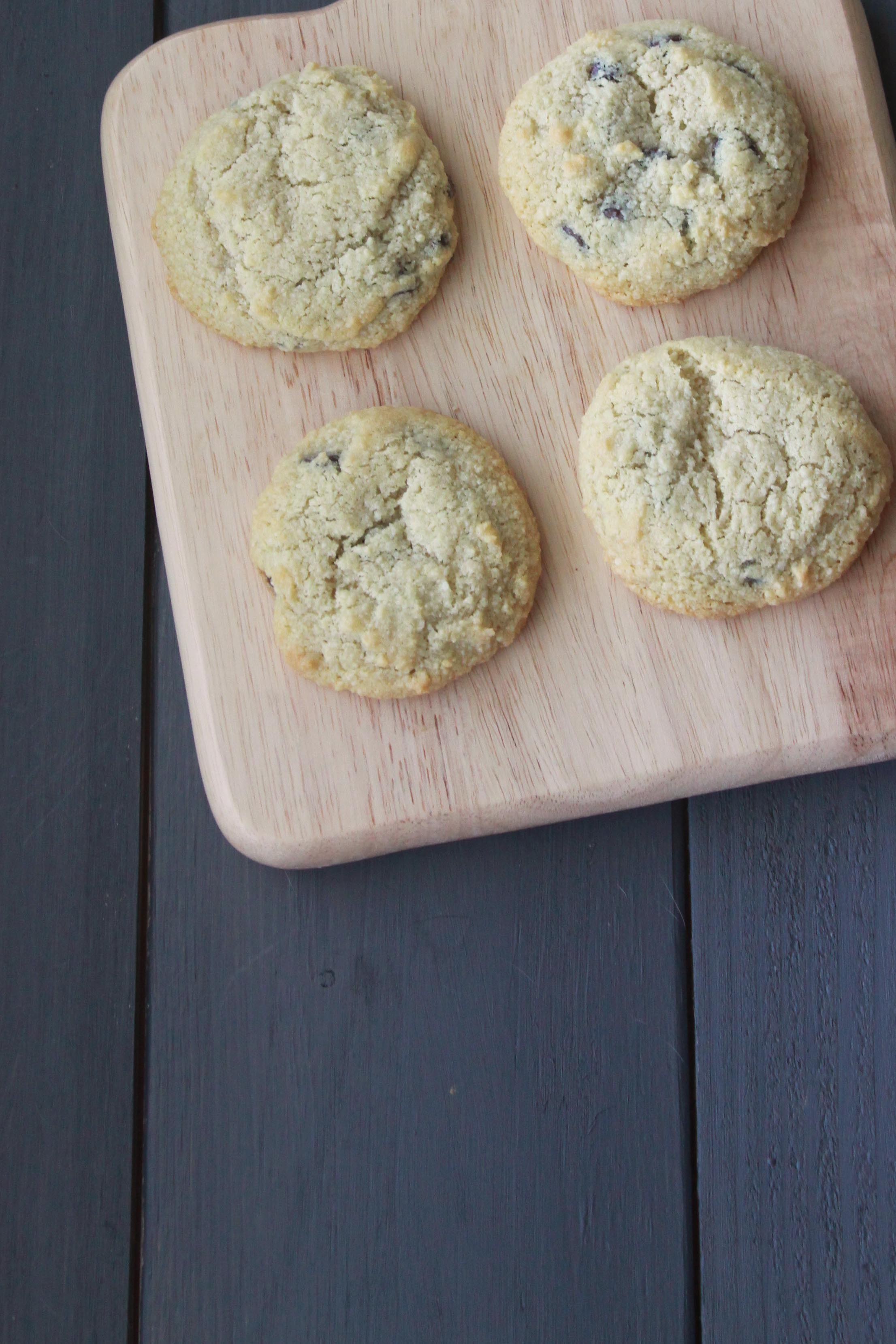 Small Batch Chocolate Chip Cookies (4 Cookies) - Espresso and ...