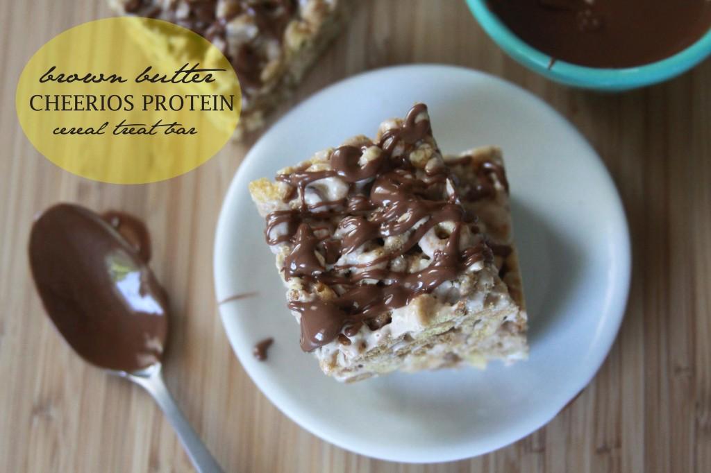 Cheerios Protein Cereal Treat Bar 1 | Espresso and Cream