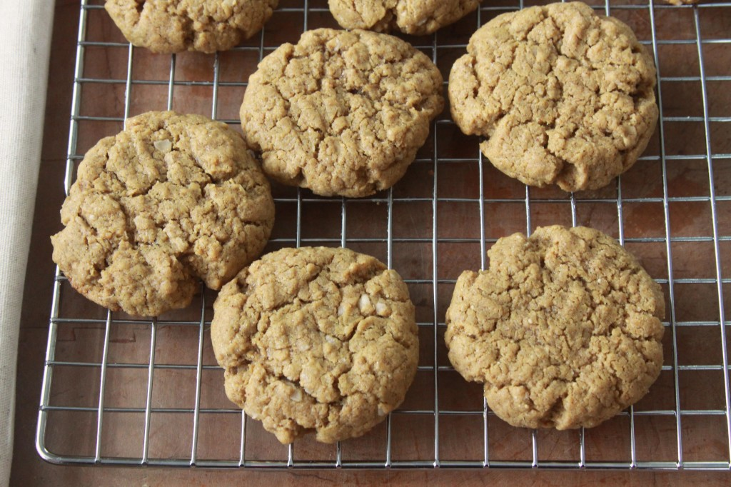 Gluten Free Oatmeal Peanut Butter Cookies 2 | Espresso and Cream