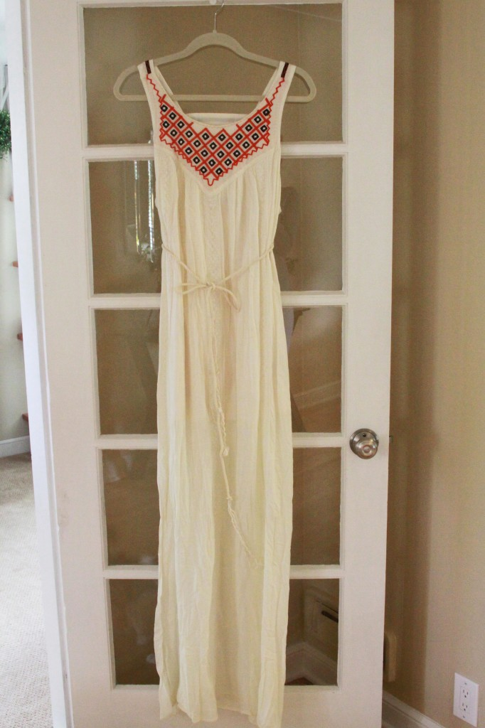 Stitch Fix White Dress 1 | Espresso and Cream