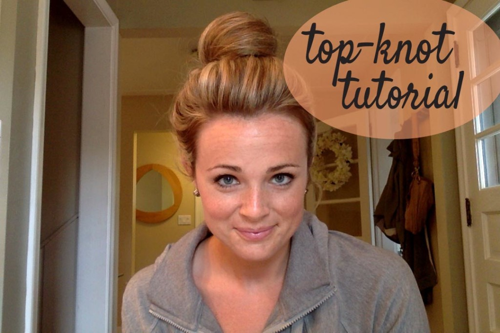 Top Knot Tutorial | Espresso and Cream