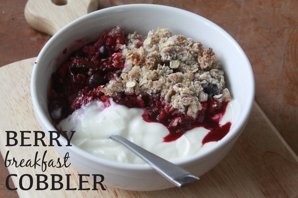 berry breakfast cobbler 4 | espresso and cream