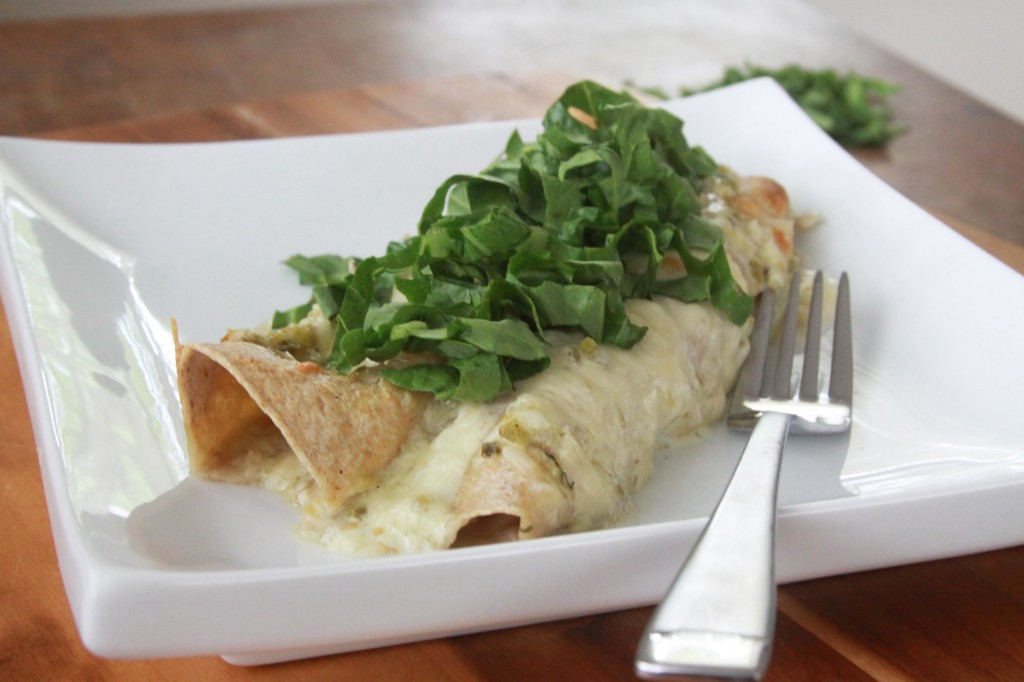 Green Chile Chicken Enchiladas (1) | Espresso and Cream