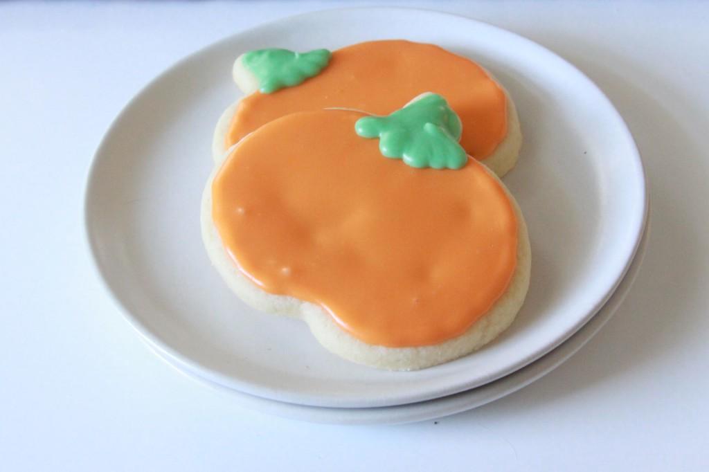Pumpkin Sugar Cookies 1   Espresso and Cream