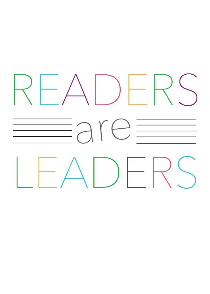 Readers are Leaders Print