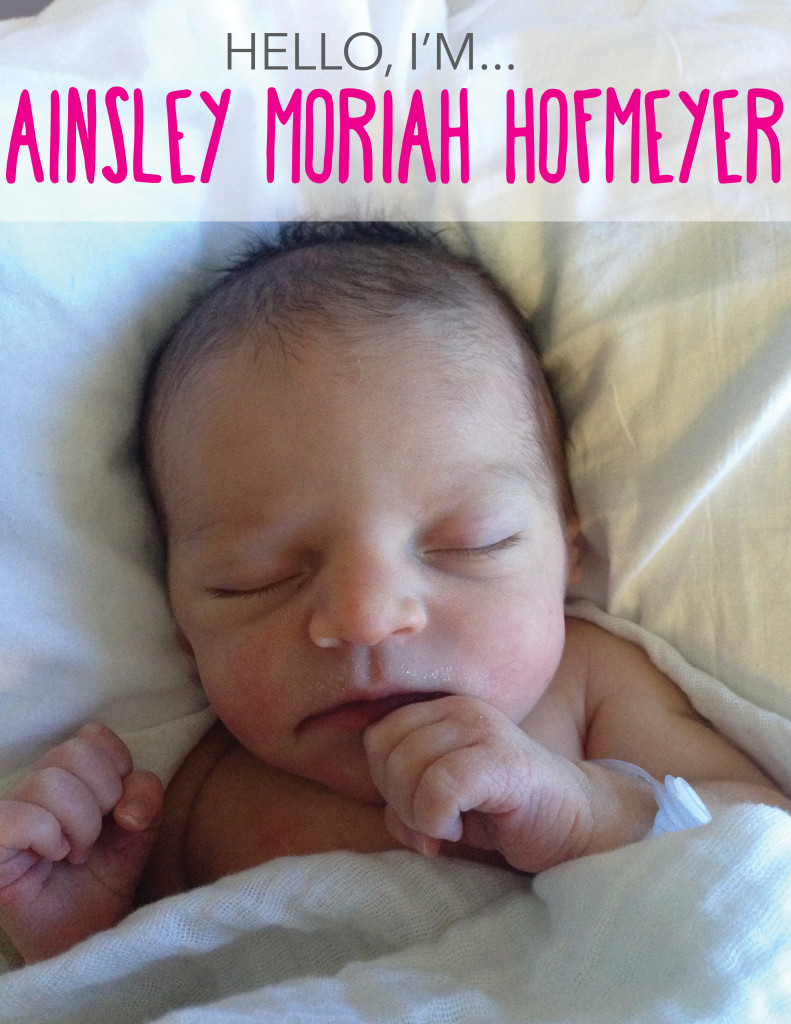 Ainsley Announcement 1