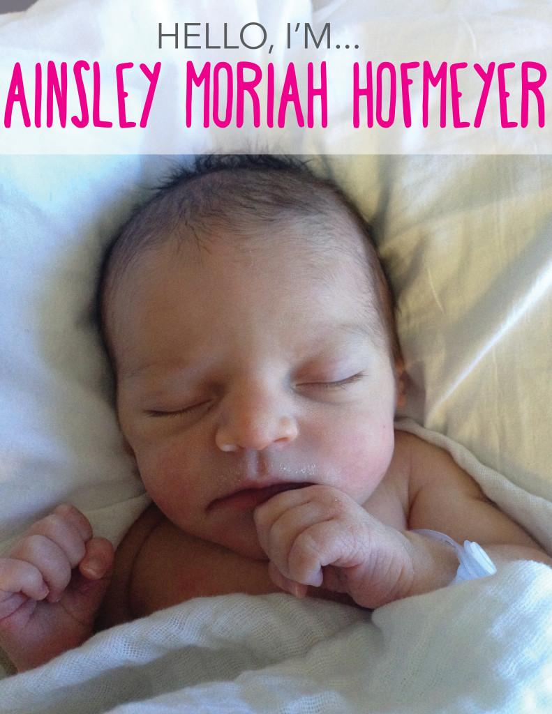 Ainsley Announcement 1