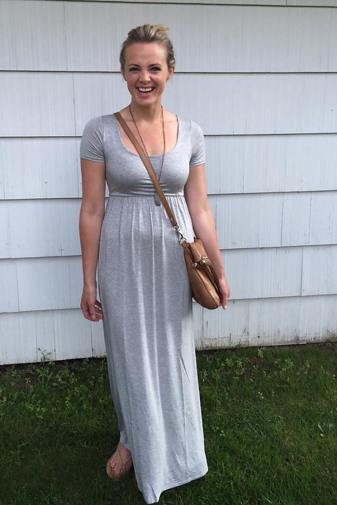 Pinkblush Maternity Dress 2