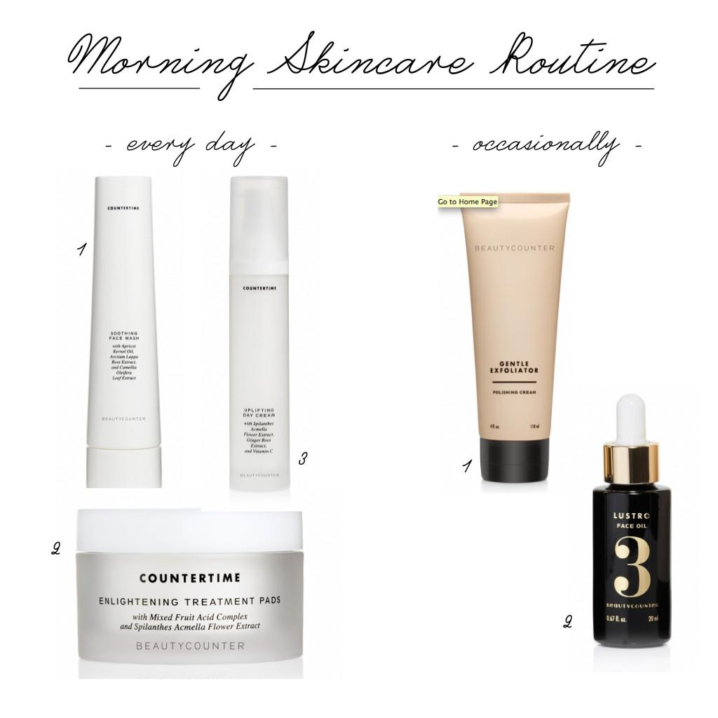 MorningSkincareRoutine